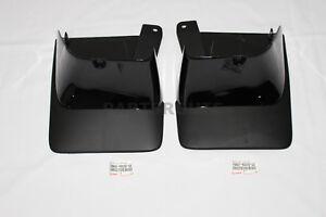 Lexus GX470 2003-2009 OEM Genuine BLACK Rear Mud Guards Flaps Splash PAIR