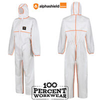 Alpha Solway Alphashield 2200 Protective Coverall Overall Suit Type 5 6 Spraying