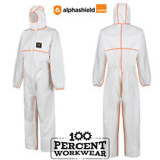 Alpha Solway S2200 Protective Disposable Coverall Overall Suit Type 5 6 Chemical