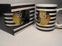 65TH BIRTHDAY GIFT PRESENT  MANS 65TH BIRTHDAY BOXED MUG Retirement Present Gift