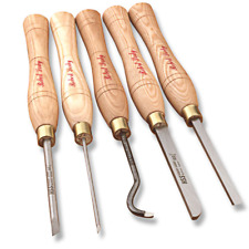 Robert Sorby #47HS 5-Piece Micro Hollowing/Spindle Combo Set