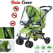 Universal Transparent Pushchair Stroller Buggy Rain Cover  Baby Prote
