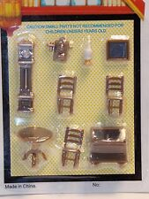 Dollhouse Miniature Dining Room A 1:48 Quarter Inch scale 1/4 Y41 Dollys Gallery