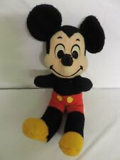 Vintage 1960-70S Walt Disney Character Productions Mickey Mouse Plush Stuffed