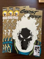 Ghost Rider #15 (Jul 1991, Marvel) LOT OF 3! 2nd print! Glow-in-the-dark! NM+