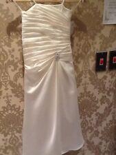Alexia designs junior bridesmaid dress size 6 Ivory