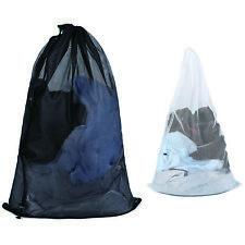 AU 2 Sets Mesh Large Laundry Bags Underwear Clothes Socks Machine Washing Bag