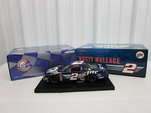 1/24 Rusty Wallace #2 1999 Ford Taurus Miller Light Harley H-D NASCAR Action