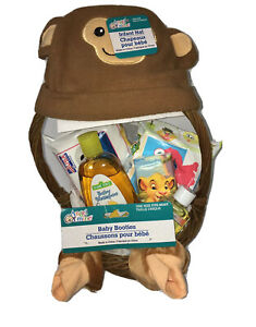 Baby Gift Basket Baby Shower Gift Welcome Home Lil Monkey Hat/footies  Wipes New