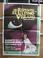 2616      DE REPENTE EL ULTIMO VERANO ELIZABETH TAYLOR HEPBURN CLIFT
