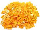 LEGO Orange Plate 2x3 Lot of 100 Parts Pieces 3021