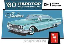 1960 Ford Starliner AMT 1/25 1055 Plastic Model Car Kit Classic