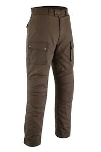 Warrior Classic Brown Motorcycle Protection Waxed Cotton Waterproof Trouser Pant
