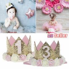 Baby Decoration Girl Tiara Princess Boy Crown Headband Flower Party Birthday