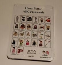 Harry Potter Abc flashcards Alphabet Flash Cards toddler educational learning