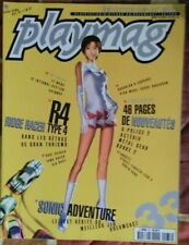 PLAYMAG 33 - SONIC ADVENTURE_METAL GEAR_QUAKE 2_SHENMUE PS DREAMCAST N64