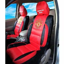 Manchester United Premium Limited Edition PVC Car Seat Covers (pair). Stunning.