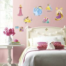 DISNEY PRINCESS 25 Wall Decals FRIENDSHIP ADVENTURES Room Decor Sticker ARIEL