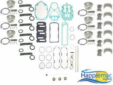 Mercury 2.5L DFI OptiMax 135 150 175 HP V6 Powerhead Rebuild Kit Gasket Piston