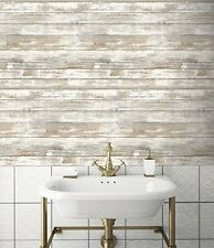 Wallpaper Self Adhesive Peel & Stick Vintage Décor Wood Panel Pattern Wall Paper