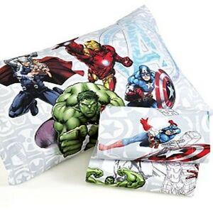 Marvel's Avengers 3 Piece Twin Sheet Set