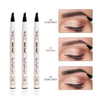 Microblading Eyebrow Tattoo Pen Waterproof Fork Tip Sketch Makeup Ink Pencil