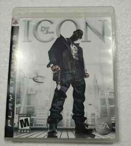 Def Jam Icon ps3 (Sony PlayStation 3, 2007)