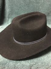 Men's Black Resistol Western Hat
