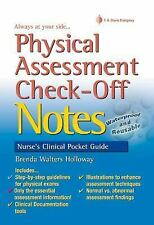Physical Assessment Check-Off Notes by Brenda Walters Holloway (2013, Spiral,...