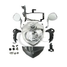 Headlight Set Head Light Assembly For YAMAHA FZ6S FZ6N FAZER 2007-2010 2008 2009