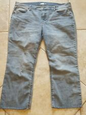 Women's Old Navy Distressed Flare Ankle Jeans measure like a size 16