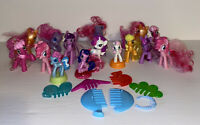 My Little Pony McDonalds Happy Meal Toy Figures Brushable Tails Mixed lot
