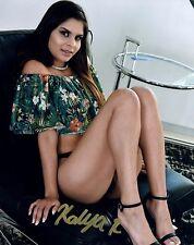 KATYA RODRIGUEZ Autograph Signed Photo 8x10 #65 PENTHOUSE TWISTYS