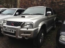 2003 53 Mitsubishi L200 2.5 Warrior - Spares or Repairs