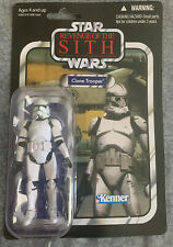 STAR WARS ROTS Clone Trooper VC15 Vintage Collection C-9 MOC