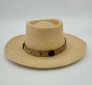 Men's Vintage Straw Hat-Bray's Island Plantation Premier Sporting Community.