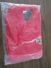 Vintage 80s PAG Seeds Red Windbreaker Jacket Size L by Gillispie Inc. in Package