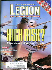 The American Legion Magazine February 1998 Airline Safety EX 080116jhe