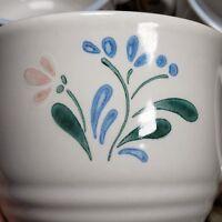 Fascino Stoneware Floral Mugs Set of 4