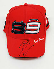 Jorge LORENZO Signed CAP DUCATI AFTAL, MotoGP Autograph Champion COA