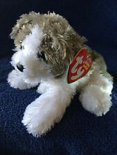 Ty Beanie Baby Babies Fetch the Dog MWMT VERY VERY Soft and Cute FREE Shipping!