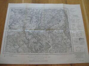 alte Landkarte Karte Nr.553 Diedenhofen von 1940 Avril Ottingen Kattenhofen Thil