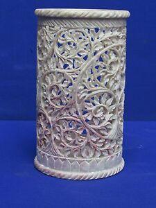 Marble Vase Handicraft Grill Work art Flower Pot Home decorative