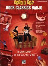 Just for Fun Rock Classics Banjo Easy TAB Book