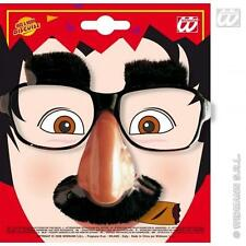 Glasses With Nose & Moustache Disguise Spy Fancy Dress Accessory