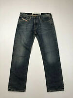 DIESEL STRAIGHT Jeans - W32 L30 - Faded Navy - Great Condition - Men's