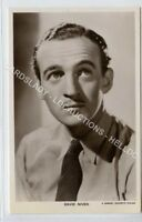 (Ld1149-462) RP, Actor David Niven, Unused VG-EX