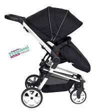 Travel System DAISY BLACK, 3in1 incl. Car Seat + FREE isoFIX Base & Mamas Bag!!!