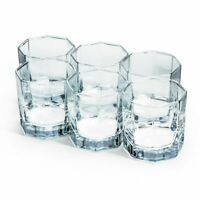 Christmas Gift 6pcs Heavy Base Whiskey Rocks Glasses Crystal Drinking Glass