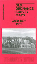 OLD ORDNANCE SURVEY MAP GREAT BARR 1901